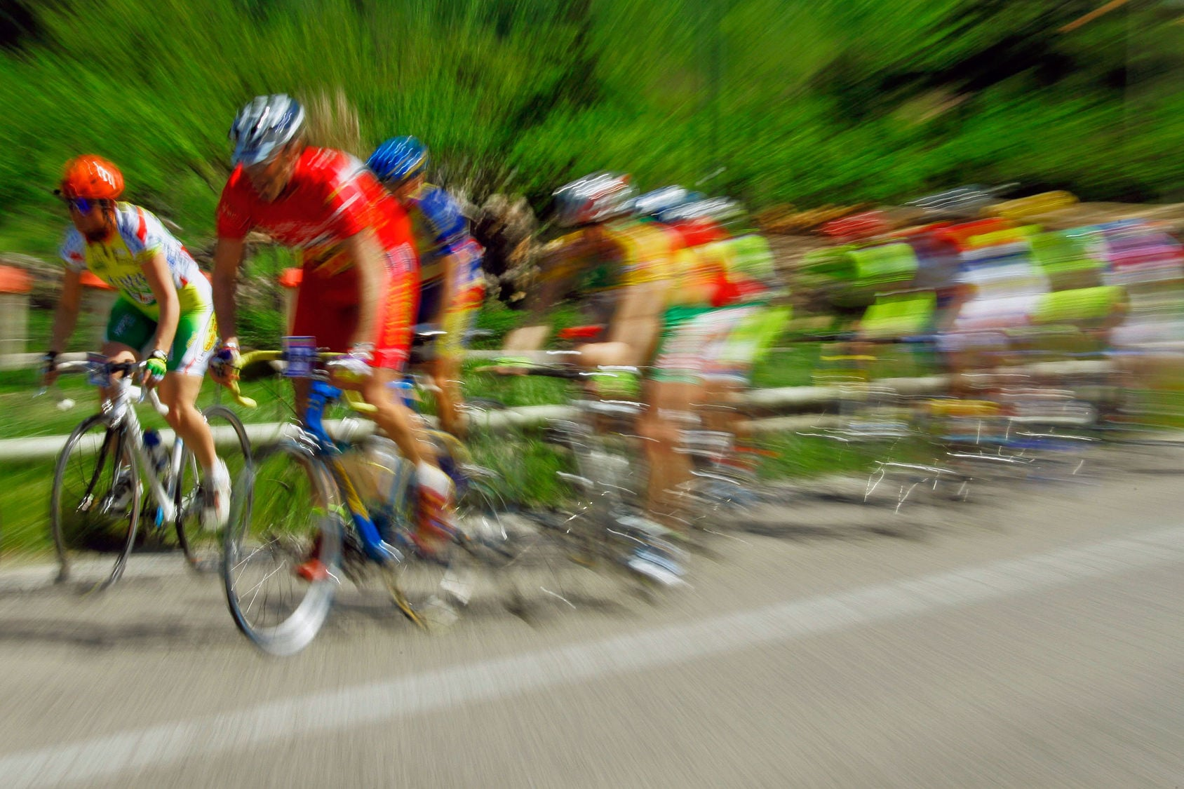Road race: Bern, Switzerland - Emosson, Switzerland