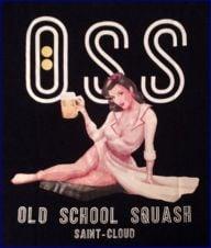 Old School Squash Saint-cloud
