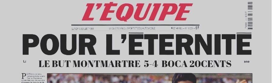Le But Montmartre Foot à 7 Championnat du Lundi