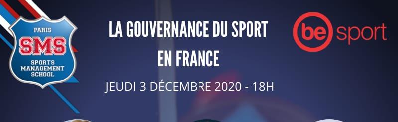 Webinaire : La gouvernance du sport en France