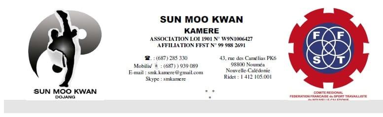 SUN MOO KWAN KAMERE