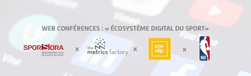Web Conférence n°4 : Écosystème Digital du Sport