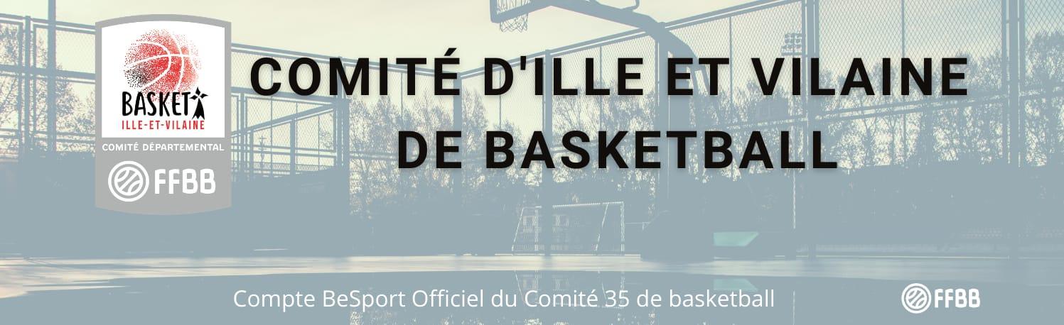 Basketball - Comité départemental d'Ille-et-Vilaine