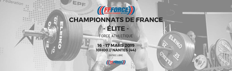 Championnats de France Élite de Force Athlétique