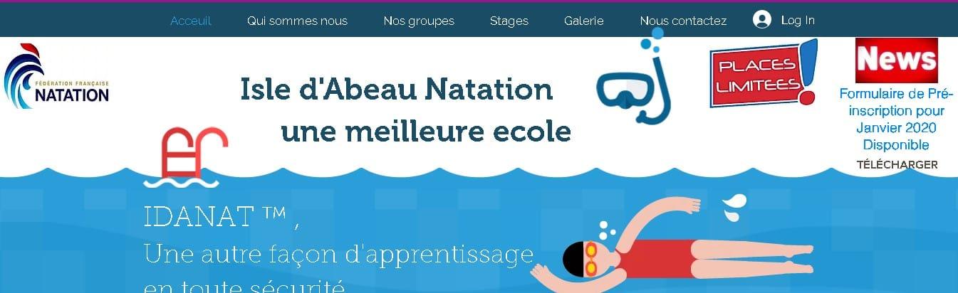 ISLE D'ABEAU NATATION