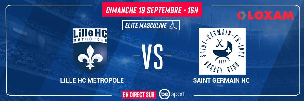 Lille Metropole Hockey Club — Saint Germain Hockey Club
