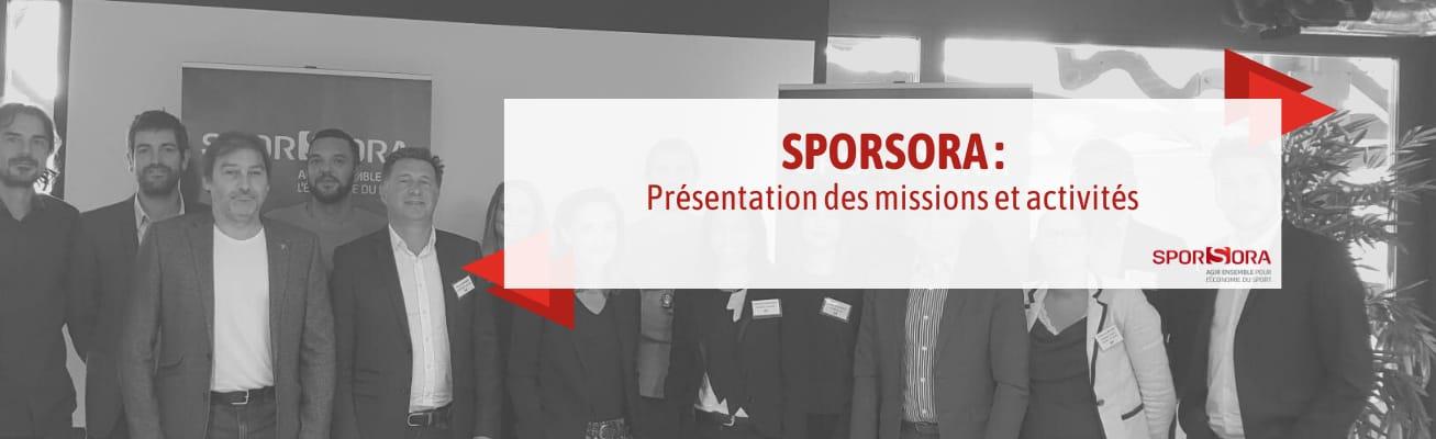 Webinar SPORSORA : présentation des missions et activités