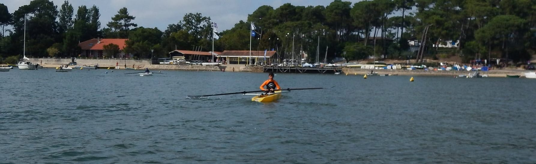 Ecole d'aviron du Club Nautique de Claouey