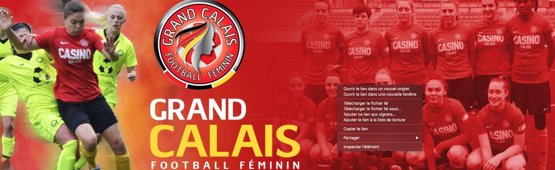 Grand Calais Football Feminin