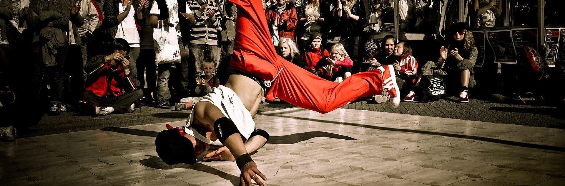 Entraînement libre de breakdance