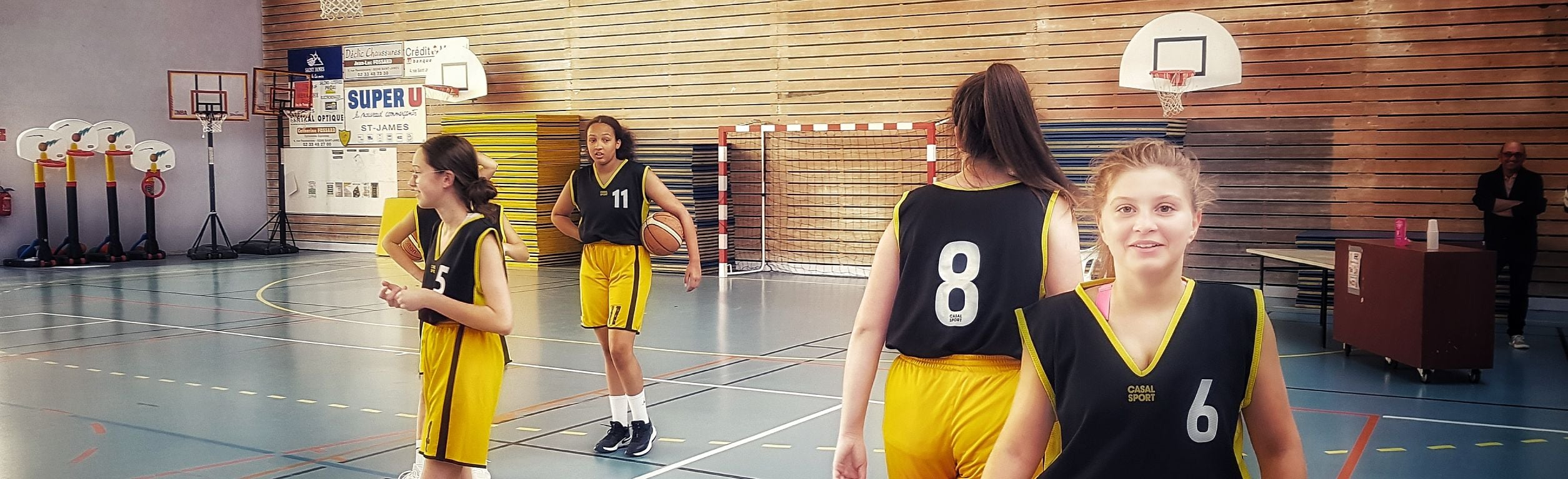 AOC Saint-James Basket U18 Fille