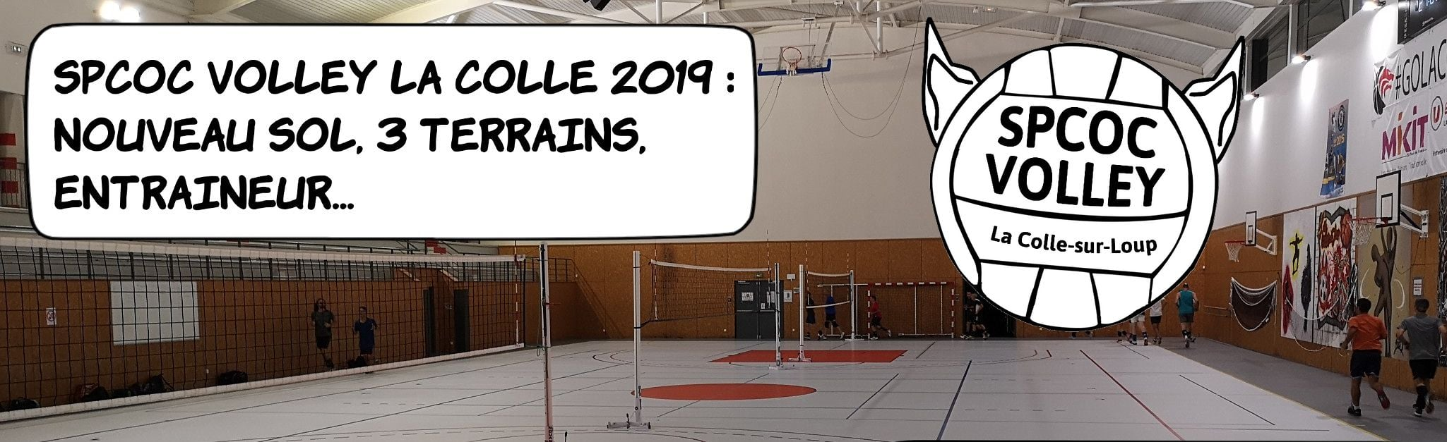 SPCOC VOLLEY - La Colle Saint-Paul