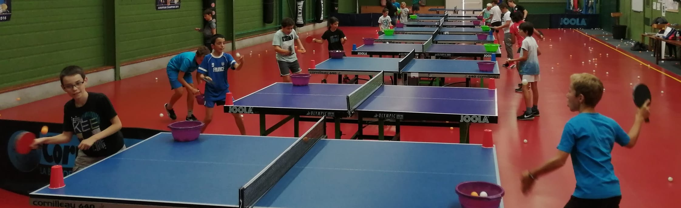 Biscarrosse Olympique                                                                                                                                                         Tennis de Table