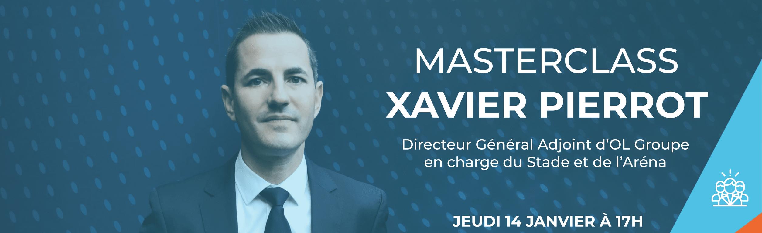 Masterclass Xavier Pierrot
